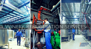 Winery Refrigeration services